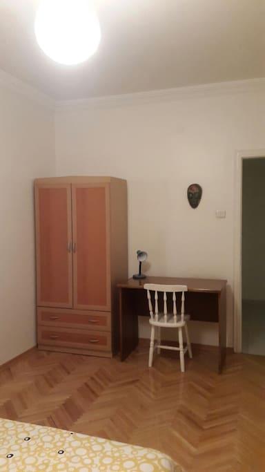 The same bedroom