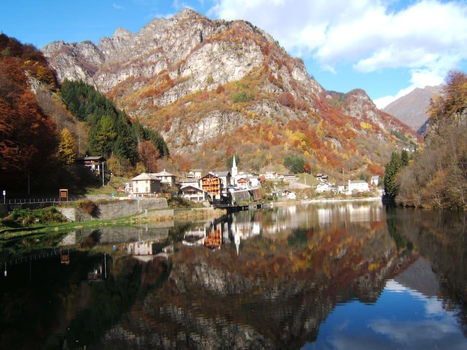 Appartamento vacanze in valsesia ville in affitto a for Ville vacanze italia
