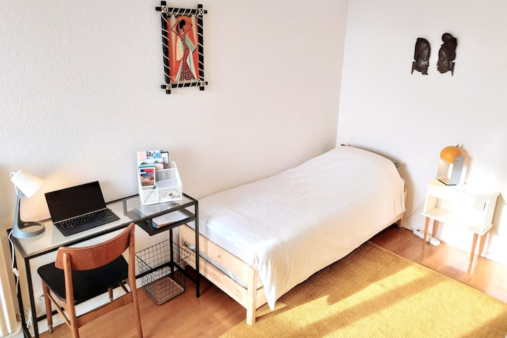 """""""Gabriel"""" room with BALCONY & PARKING"""