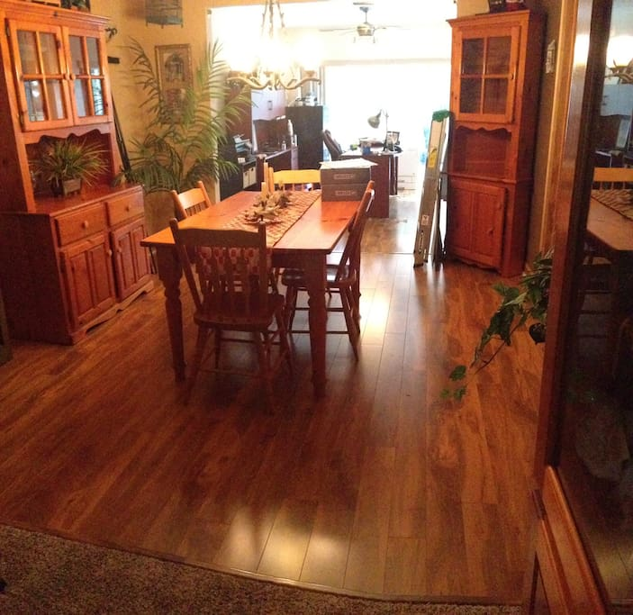 This is my dinning room off of the formal living room.