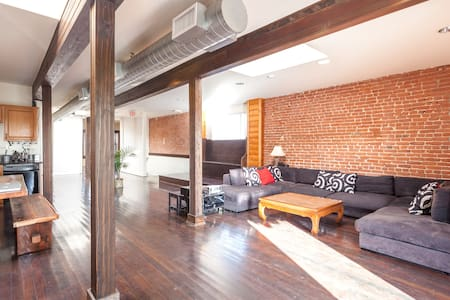 Authentic Artist loft