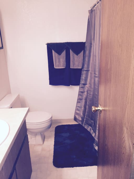 Private room with bath available