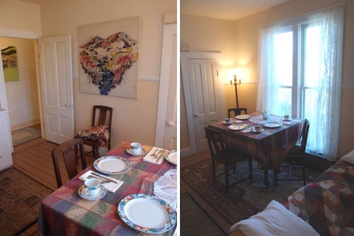 Upstairs Uptown Victorian Apartment - Port Townsend - อพาร์ทเมนท์