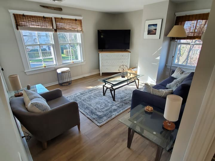 Updated apartment in historic village home