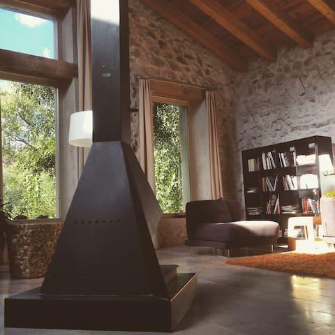 casa de diseño a 23 km de Segovia - Peñarrubias de Pirón - Dom