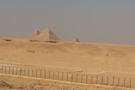 Pyramids view/ Guide service+AC CAR