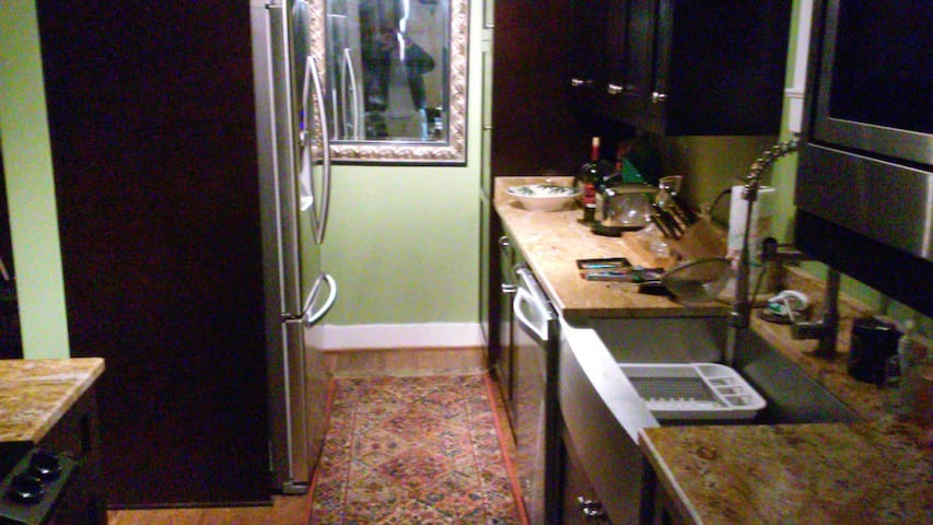 New Granite Countertops, All Stainless Steel Appliances