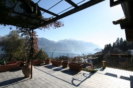 The Cottage with amazing Terrace and Lake View - Menaggio  - Hus