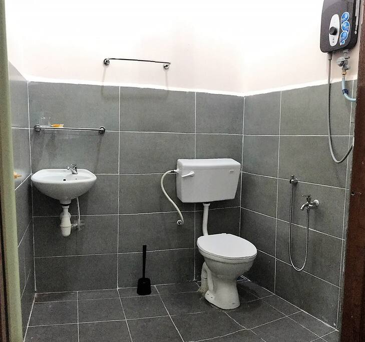 Private Bathroom with Heater