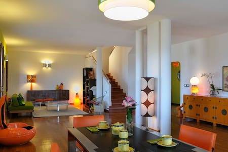 Friendly, 60s design, hilltop B&B - Monte San Pietro - Bed & Breakfast