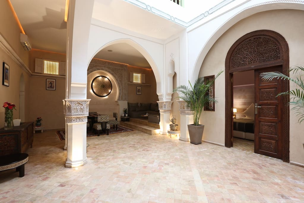 Riad Enchant's Patio