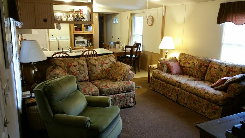 Economical-Cozy-Clean Mobile Home near Asheville