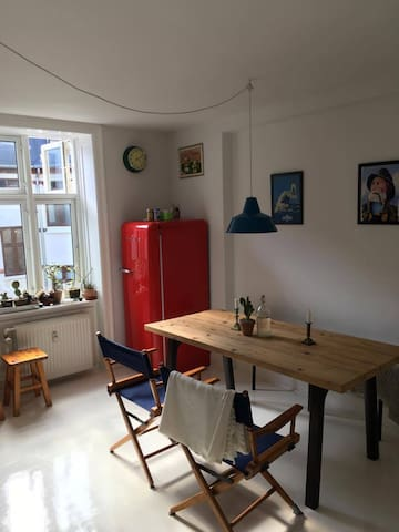 Charming 2 room apartment in the heart of Nørrebro