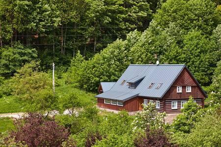 """Beautiful mountain cottage """"Hajenka"""" - Rudník - 샬레(Chalet)"""
