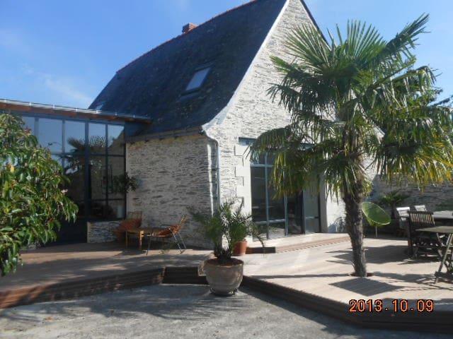 Maison de charme en bords de Loire - Saint-Jean-des-Mauvrets - Casa
