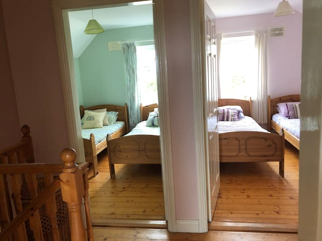 Two twin bedrooms