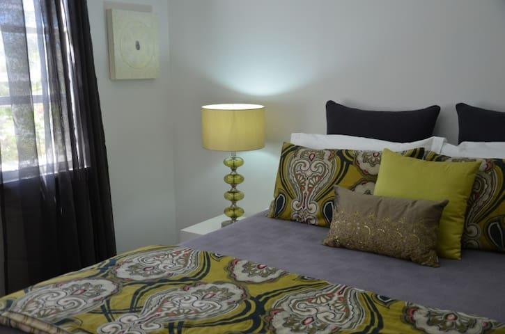 Two bedrooms...each with a queen bed