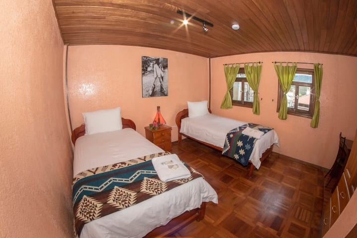 La Casa del Molino Blanco Double Twin Beds/Triple