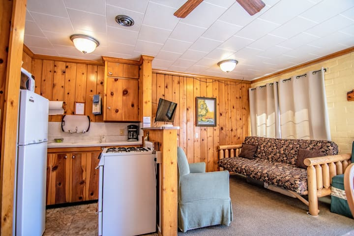 2 Bedroom Lake Front Cabin Suite on June Lake!