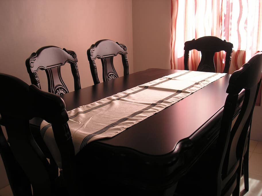 Dining table for breakfast or other meals