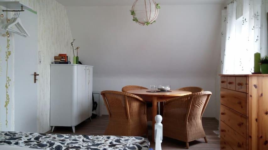 """""""Die grüne Diele"""", Zimmervermietung - Bremervörde - Gjestehus"""