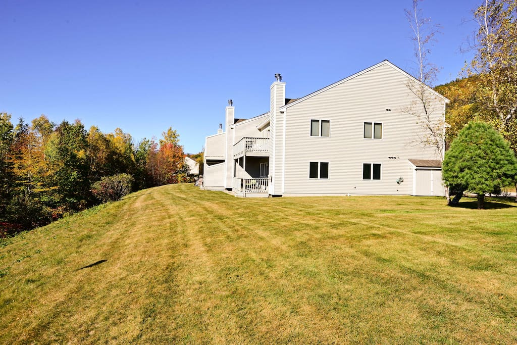 You'll have easy access to hiking and biking trails along with ski resorts.
