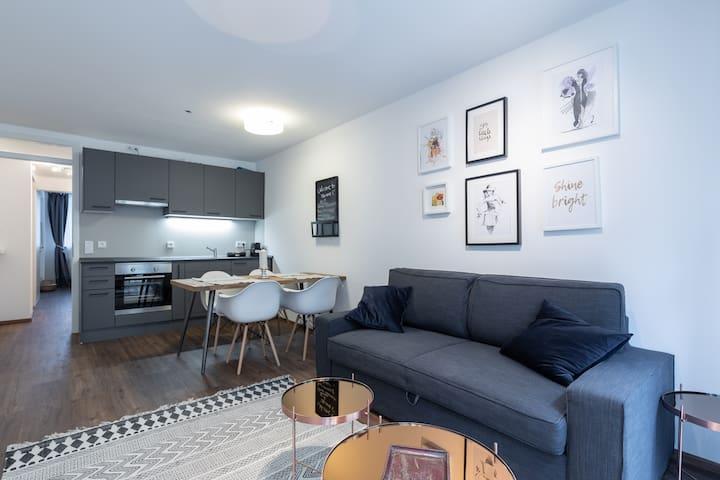 Luxury 3-Room Apartment in City Center