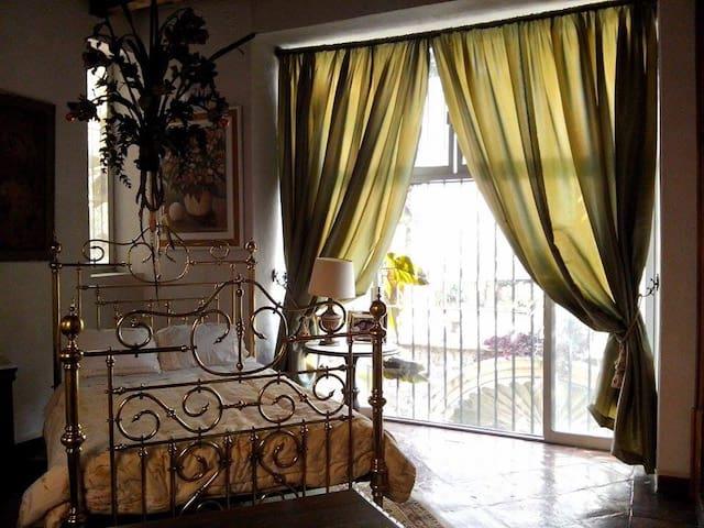 Magnificent room @Downtown Hacienda - Cuernavaca - Bed & Breakfast