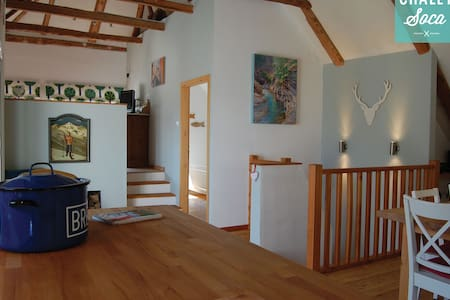 Chalet Soca - stunning views & home - Žaga - Casa