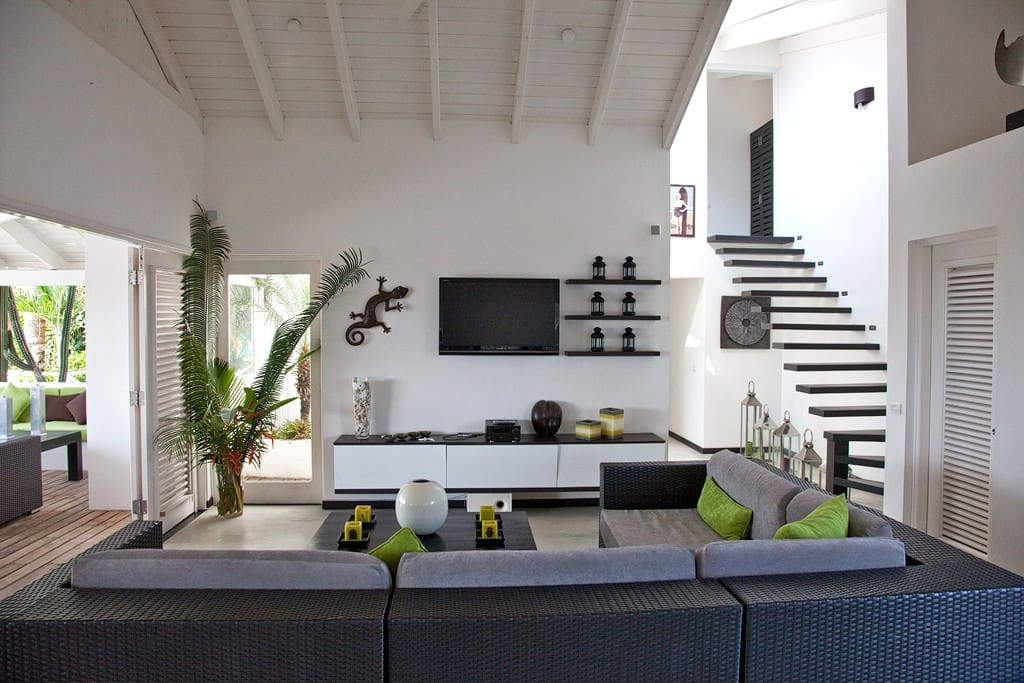 Grand salon intérieur