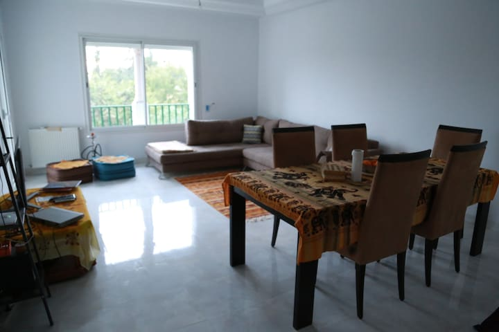 2 Furnished rooms in new and quiete apartment