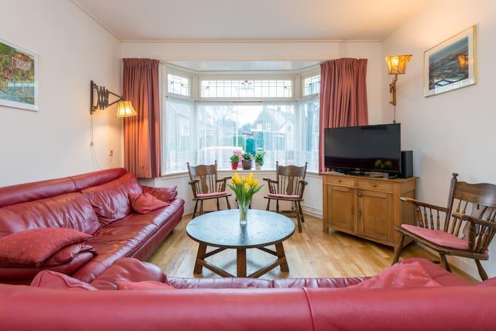 Mooi vakantiehuis met 3 slaapkamers - Egmond aan Zee - House