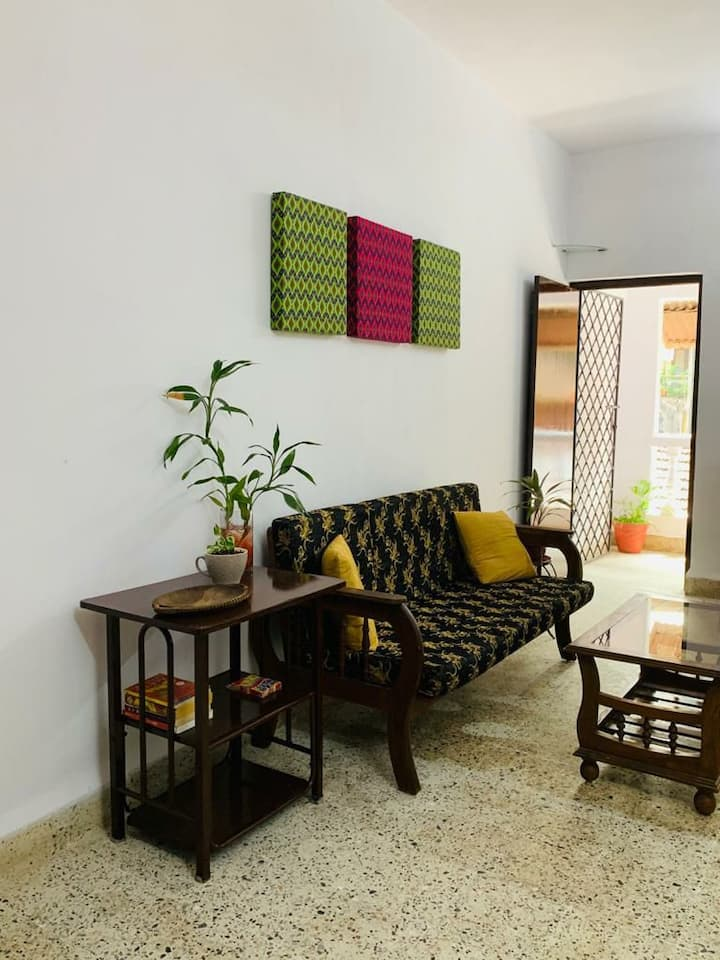 1 BHK Apartment in Panjim (In Fontainhas)