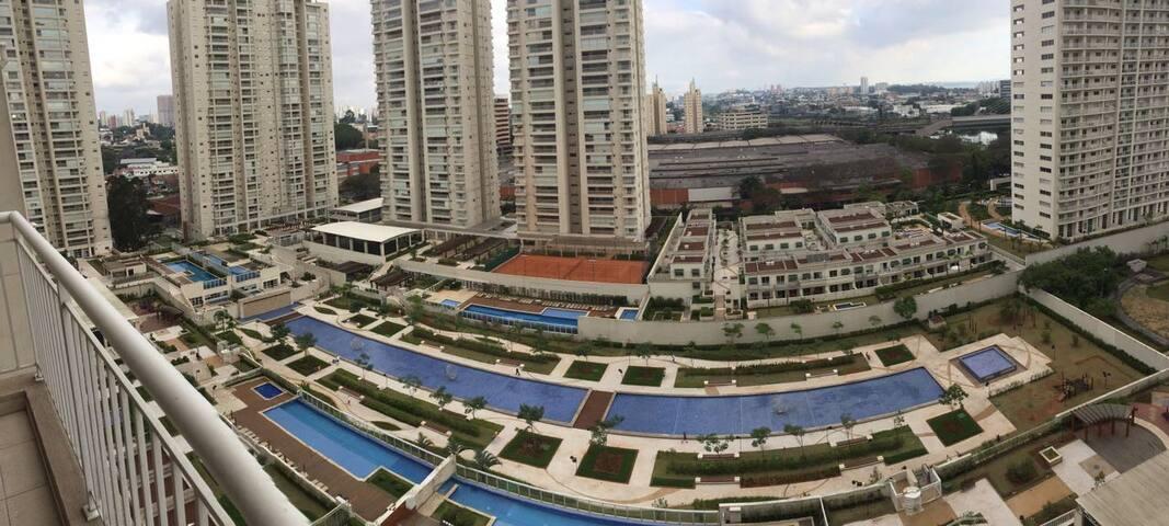 Apartamento completo no Chácara Santo Antonio - São Paulo - Daire