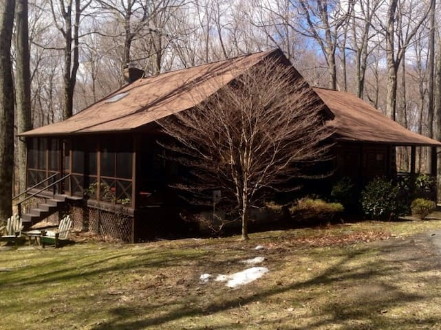 Log Cabin in the Woods - Millerton