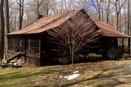 Log Cabin in the Woods - Millerton - House