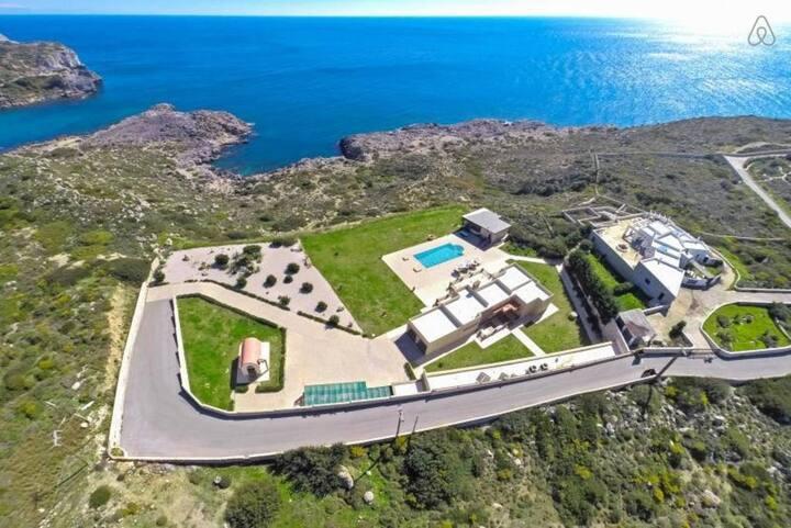 Luxurious sea view Villa in Rhodes, Greece