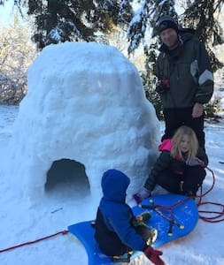 Portland Igloo! - Milwaukie