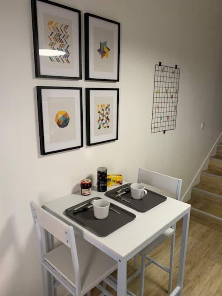 Le Petit Cazotte studio 20 m² centre ville Dijon