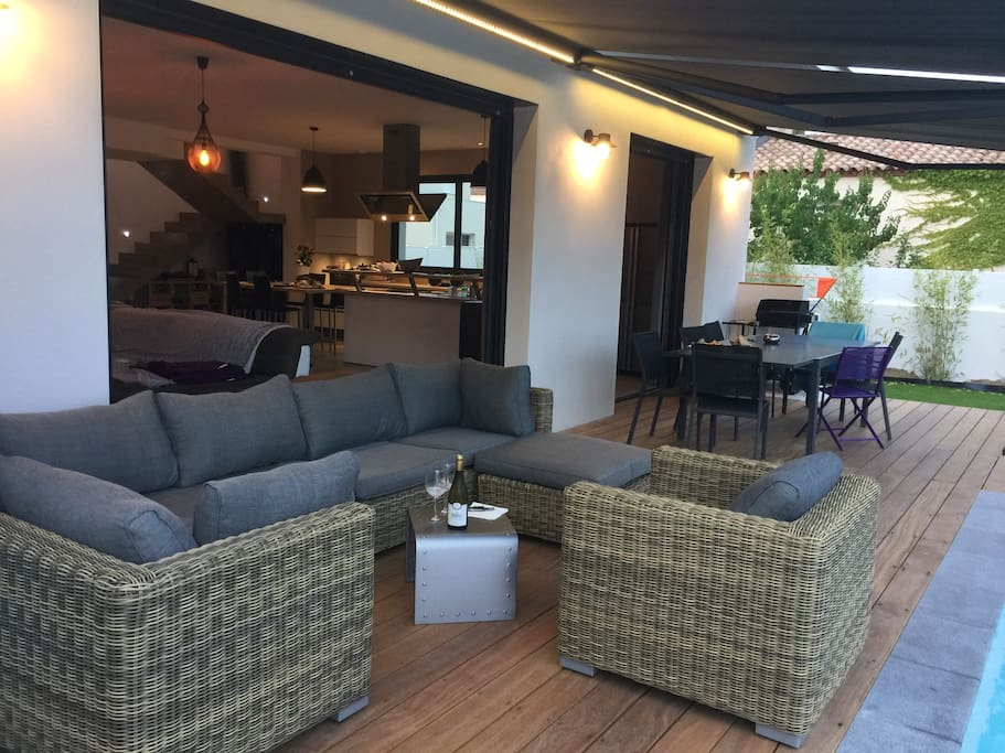 Villa neuve 140 m2 3 chambres piscine h user zur for Cash piscine st jean de vedas