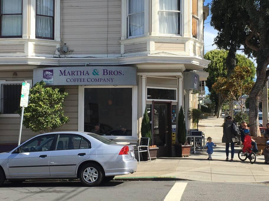 Kuva paikasta Martha & Bros. Coffee Co. naapurustossa Noe Valley