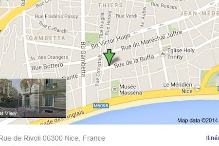 Super Chambre B&B Nice centre Mer  - Nice - Apartment
