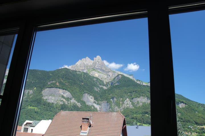 Appartement 2 pièces vue Mont-Blanc - Sallanches - Daire