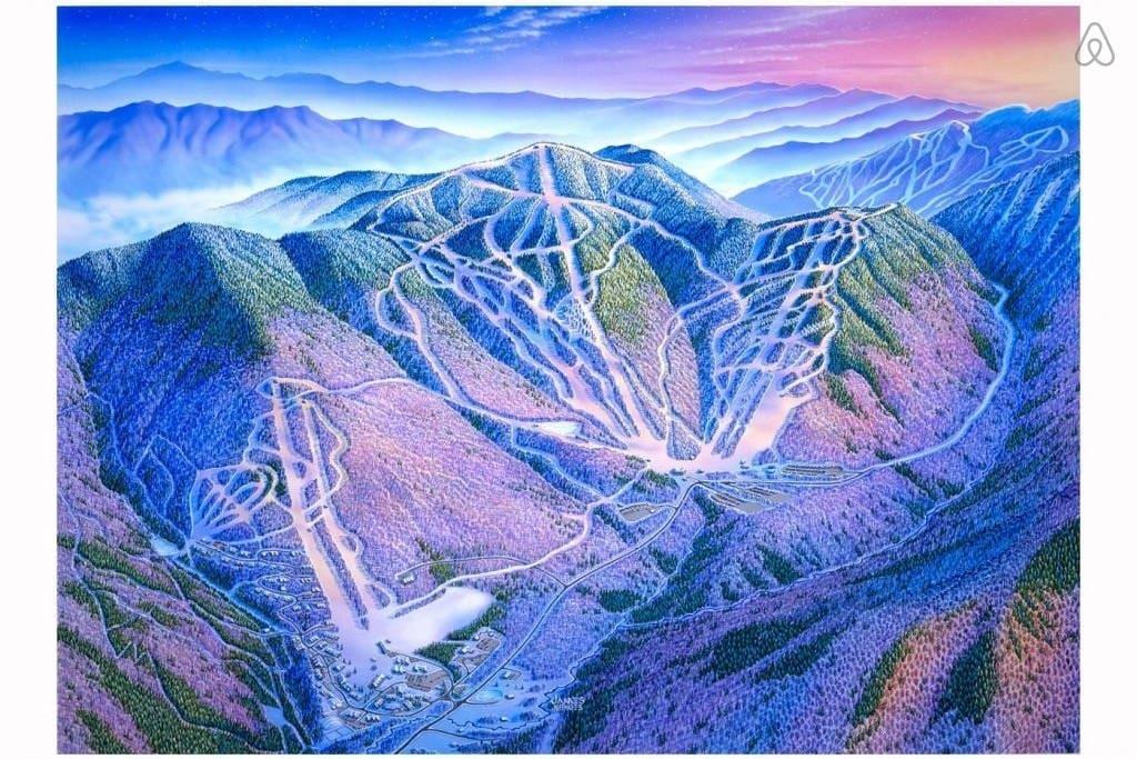 Smugglers Notch ski slopes