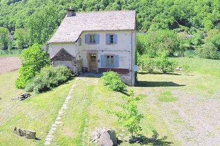 Maison rénovée en Vallée du Tarn - La Bastide-Solages