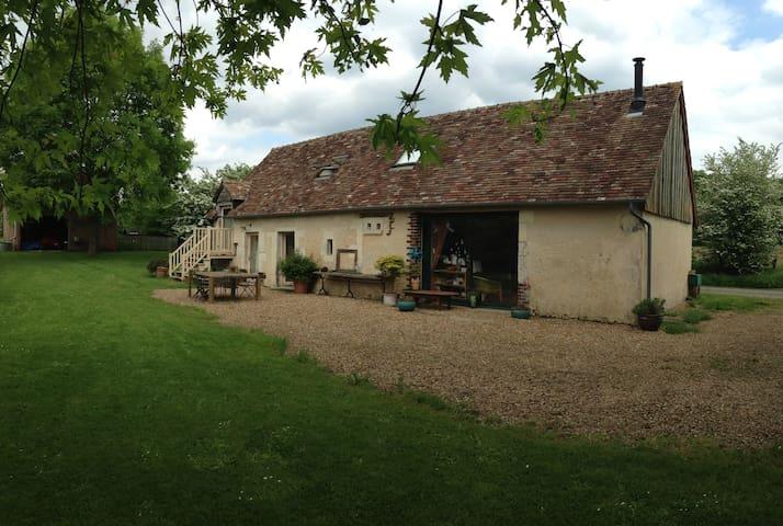 petite maison à l'orée de la forêt de Bercé - Marigné-Laillé - Talo