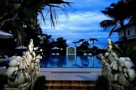 Rooms in stunning resort  next to North Gill Golf - 清迈 - 别墅