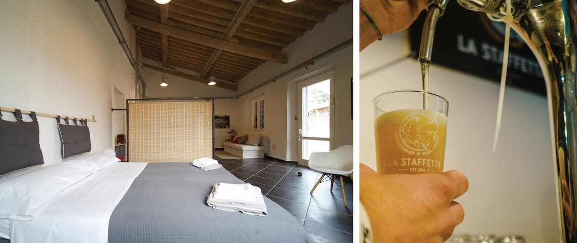 LOFT & CRAFT BREWERY WITH TERRACE