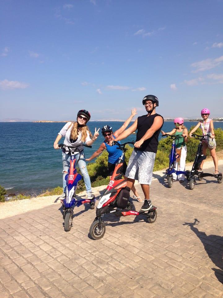 Have fun along the Athenian coastline