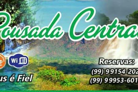 Pousada Central - Carolina - MA Chapada das Mesas